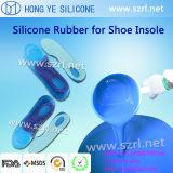 Het medische Rubber van het Silicone van de Rang Vloeibare voor Producten Footcare/Binnenzolen/Hielen