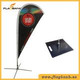 2.8m bekanntmachende Aluminiumdigital Druckenteardrop-Fahne/Teardrop-Markierungsfahne