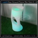 PE Material de moldeo rotacional Luminous heces Muebles LED