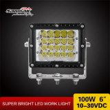 """100W 6 del """" luz resistente del trabajo nuevo diseño LED"""