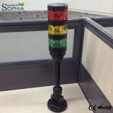 Buena luz al aire libre de la torre de la señal del uso LED de la calidad IP67 con la base plegable
