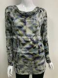 Neuer Entwurfs-Pullover für Frauen mit All-Over Digital-Druck