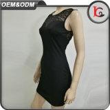 Neue Form-Damen kleiden schwarzes reizvolles formales Kleid der Backlesss Partei-Dame-Short Dress Elegant