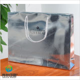 Bolso de compras de empaquetado laminado lustre de lujo modificado para requisitos particulares del papel de imprenta
