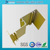 Perfil de aluminio del grano de madera con color/diseño modificados para requisitos particulares