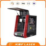Promotion 20W / 30W / 50W Portable Fiber Laser Marquage et gravure Machine pour Spoon / ABS / Pes / PVC / Cooper / Titanium