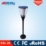 Lichter der Aluminiumim freiendekoration-IP65 Solar-LED für Garten