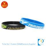 Wristband personalizzato di identificazione del silicone di prezzi di fabbrica dell'OEM nuovo
