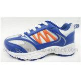 Calçados atléticos dos miúdos com injeção Outsole do PVC (S-0140)