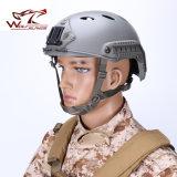 Casco rápido del Pj de los militares de Fma con el casco de seguridad táctico de Airsoft del montaje de Nvg y del carril lateral para a prueba de balas