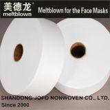 tessuto non tessuto di 15GSM Bfe95% Meltblown per le maschere di protezione
