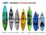 360 Angler Plastic Kayak Pêche Pêche