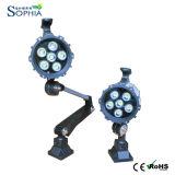 24V, 100-240V impermeabilizan la luz corta del trabajo de la máquina del brazo