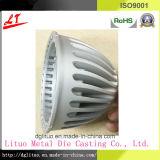 En aluminium les pièces de boîtier de lampe d'éclairage du moulage mécanique sous pression DEL