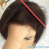 제조 인도 Remy 머리 얇은 피부 머리 보충 시스템 0.03mm-0.09mm