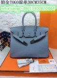 Più nuovo borsa delle signore di modo/cuoio della mucca/colore blu