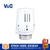Cabeça termostática automática do seletor de temperatura do radiador
