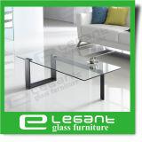 스테인리스 프레임을%s 가진 현대 까만 색칠 강화 유리 측 테이블