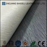 Cuero resistente de la PU del PVC de la abrasión para la tela de los muebles