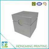 Коробка свечки картона золота напечатанная логосом упаковывая