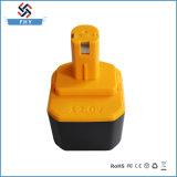 Reemplazo 12V 3000mAh Ni-MH Ryo-12 de la batería de la herramienta eléctrica