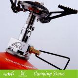 Poêle campant portatif avec la surface en céramique de bec