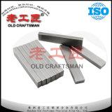 Штанга цементированного карбида вольфрама Unground плоская с OEM ODM