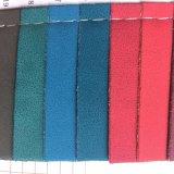 靴のサンダルのための革合成物質PU材料を作ることに蹄鉄を打つ