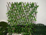 庭の装飾のための小型木の塀