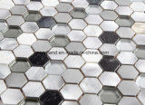 De Tegels acs-Hns4301 van de Muur van de Badkamers van Backsplash van de Keuken van de Decoratie van de Tegels van Matel van de Steen van de Tegels van het Mozaïek van het aluminium
