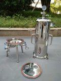 Cárter del filtro sanitario de la precisión del acero inoxidable
