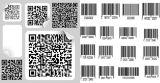 Impresión de las escrituras de la etiqueta de código de barras de la alta calidad