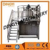 máquina de emulsão do vácuo 1000-5000L de creme cosmético, máquina de mistura de emulsão do vácuo do creme de face