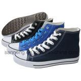 Más de 10 zapatos de lona básicos de los colores (SNC-210005)