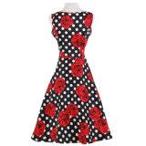 Платье 100% Bridesmaid MIDI хлопка флористическое для женщин