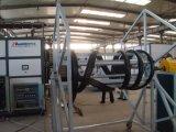 Ligne ondulée d'extrusion de pipe renforcée par acier spiralé de HDPE