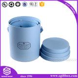 Zylinder-kundenspezifische Drucken-Gefäß-Papppapierverpacken ringsum Kasten