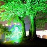 La luz solar del paisaje de la luz de inundación del diseño del RGB del cambio único del color para el jardín adorna