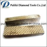 Segment van de Steen van de Machine van de Snijder van de diamant het Concrete Scherpe voor de Plak van het Graniet