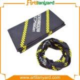 Kundenspezifischer Multifunktions-PolyesterBandana mit Firmenzeichen
