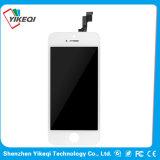 iPhone 5sのための市場の黒くか白い携帯電話LCDの後