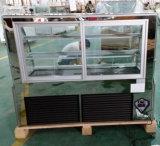 Refrigerador comercial do bolo/pastelaria com a porta de vidro de deslizamento (KI770A-S2)