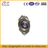 Emblema de polícia de esmalte duro de alta qualidade personalizado