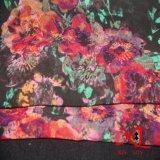 染まることを用いる100%の絹のサテンの軽くて柔らかいファブリック