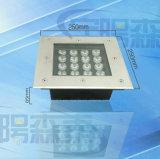 Luz exterior subterránea LED cuadrada para los parques cuadrados 3W 6W 12W 16W en la luz del suelo