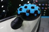 Hardtop 아주 새로운 소형 아BS 소형 술장수 F56 F55를 위한 플라스틱 UV 보호된 생생한 파란 작풍 보충 측 미러 덮개