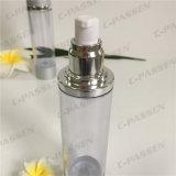 100ml löschen das Kunststoffgehäuse als Siliver luftlose Lotion-Flasche (PPC-ASAB-052)