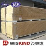 Schalldichtes Preforated Felsen-Wolle-Zwischenlage-Panel