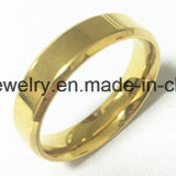 La joyería de Shineme deslumbra el anillo del acero inoxidable del color (SSR2780)