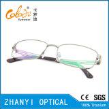 Blocco per grafici di titanio di vetro ottici di Eyewear del monocolo dell'ultimo Pieno-Blocco per grafici di disegno (9317)